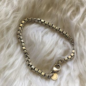 Tiffany & Co. Venetian Sterling Silver Bracelet